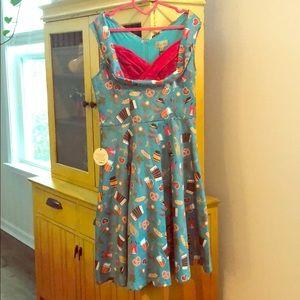 Lindy Bop Octoberfest Dress 🍻🥨🍺🌭